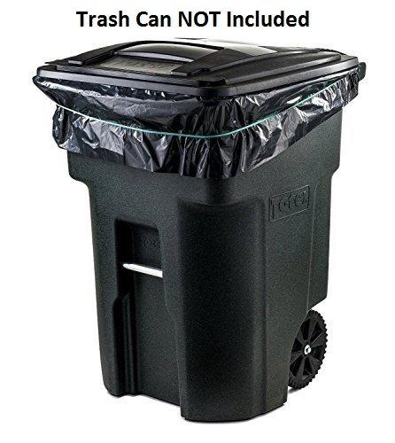 7cff8cf0ab817 Details about Toughbag 95 Gal Trash bags, Black, 2 Mil, 61x68, 25 Garbage  Bags Per Case