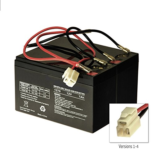 W15130640003 - W13112099003 Razor E200/E200S Versions 1-7 E300 Versions 1-4 Replacement Batteries and Harness Beiter DC Power ... by Beiter DC Power