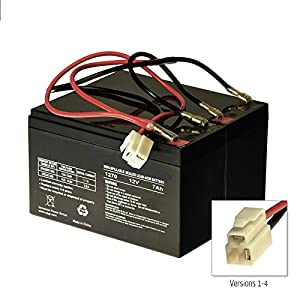 51A5pBRUy L._SY300_ amazon com razor e300 & e325 scooter battery and wiring harness  at edmiracle.co
