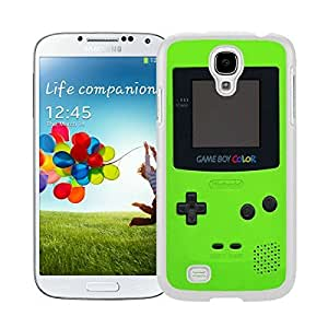Graceful Samsung Galaxy S4 Case Green Gameboy Soft Silicone White Phone Cover Accessories
