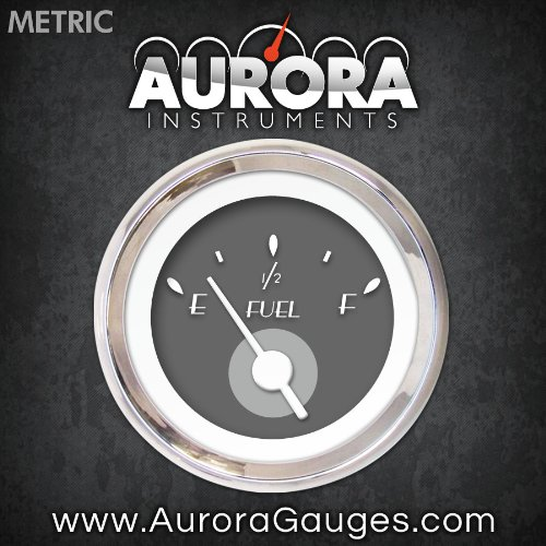 DECO XT Gray Fuel Level Gauge 4591 GAR113ZMXKABAD Aurora Instruments