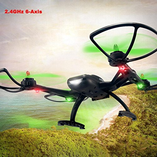 JJPRO X2 2.4GHz 4CH 6-Axis Quadcopter Drone UAV Through The Entry-leve With LED,Tuscom@ by Tuscom