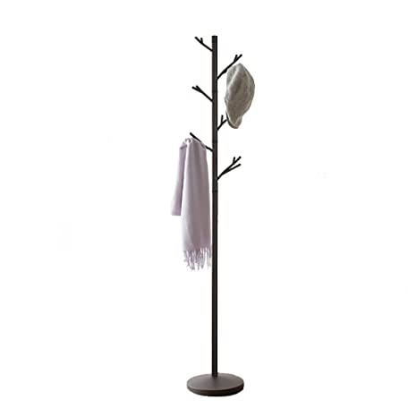 Amazon.com: COAT RACK Free Standing, Iron Hanger Rack Tree ...