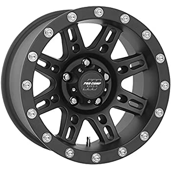 Amazon Com Pro Comp Series 31 Stryker Matte Black 16x8 6x5 5