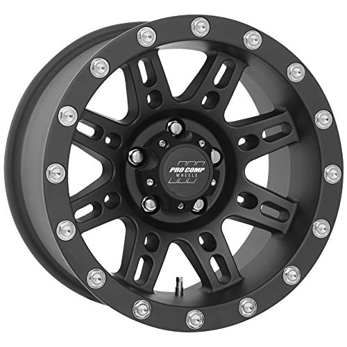 (PRO COMP Series 31 Stryker Matte Black (15x8 / 5x4.5 / -19mm))