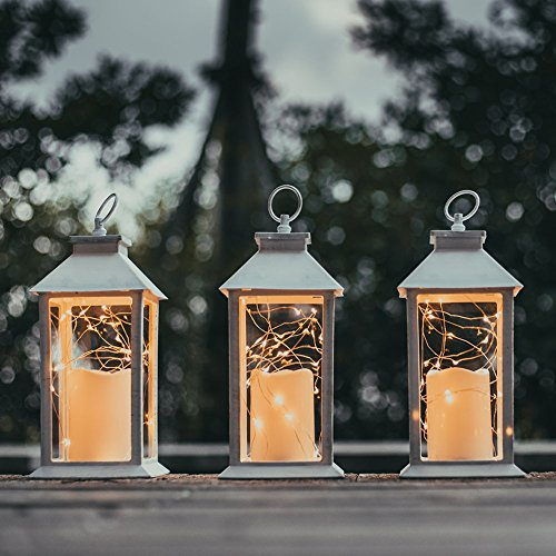 Evermore Light 14 Quot Tall Christmas Candle Lantern With 4