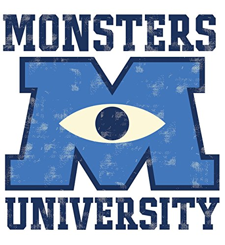RoomMates Monsters University Giant Peel and Stick Wall Decals (Monsters Inc Logo Sticker)