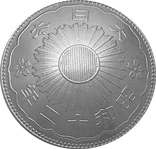 コンチョ 古銭 鳳凰 50銭 銀貨 MH-1B ネジ式 1個