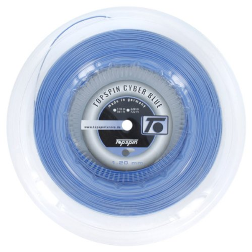 Topspin TOPCYBERBL120R CyberBlue 1.20MM/18G Reel Tennis String