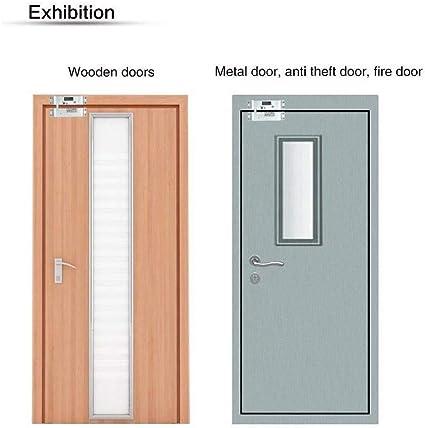 DC12V Cerradura magnética - 1000 KG Cerradura de puerta eléctrica control de acceso de entrada de la puerta de inducción, Adecuado para todos los tipos de puertas: Amazon.es: Bricolaje y herramientas