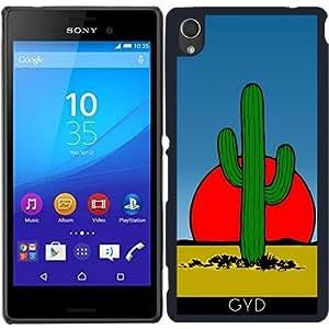 Funda para Sony Xperia M4 Aqua / Aqua DUAL - Cactus by hera56