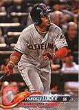 2018 Topps #10 Francisco Lindor Cleveland Indians Baseball Card