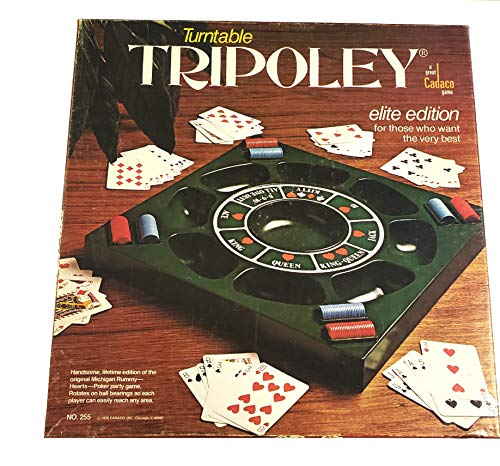 Turntable Tripoley 1976 Elite Edition Board Game