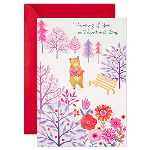 Hallmark Paper Wonder Pop Up Valentines Day Card for Anyone (Beary Loved Valentine) Photo #4