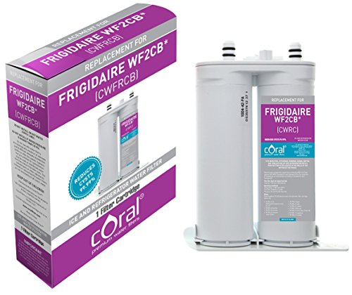 CORAL FILTER Frigidaire WF2CB PureSource2 / Electrolux EWF2CBPA PureAdvantage / Kenmore 46-9911 Refrigerator Water Filter Compatible Coral Premium Water Filter (9911 Water Filter compare prices)