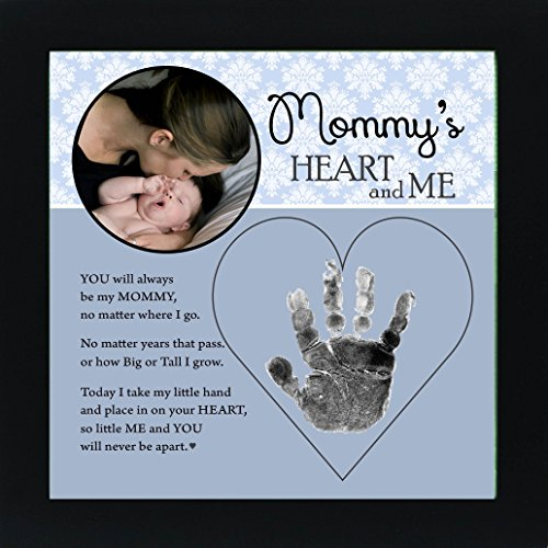 Color Child Frame Daddy (Baby Child Keepsake Handprint Frame with Poetry - Mommy, Daddy, Grandma or Grandpa (Mommy))