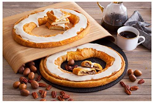 Danish Kringle Pair - Pecan and Cream Cheesecake (Best Kringle In Wisconsin)