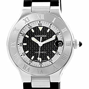 Cartier automatic-self-wind mens Watch (Certified Pre-owned)