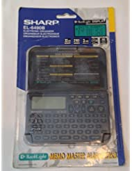 Sharp EL-6490B Electroniic Organizer