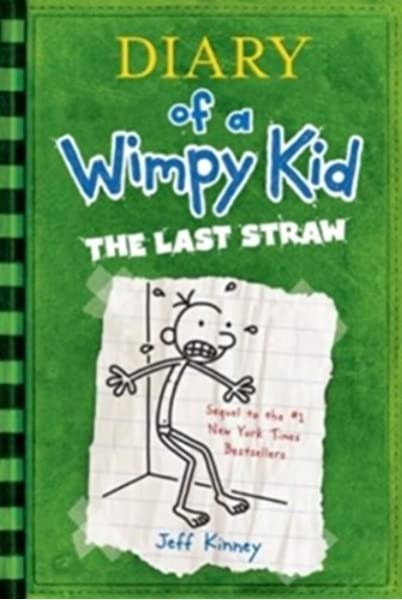 Diary Of A Wimpy Kid The Last Straw Book 3 Kinney Jeff 9780810970687 Amazon Com Books
