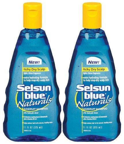 Itchy Dry Scalp Dandruff Shampoo, 11 oz, 2 pk