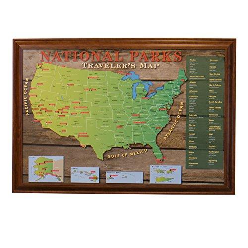 National Parks Push Pin Travel
