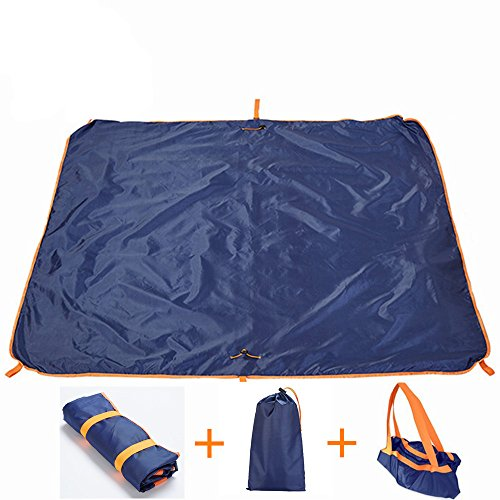 Beach Blanket Folds Into Bag - 4