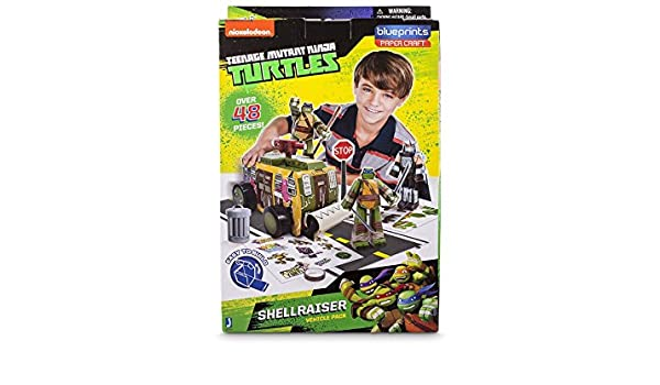 Tortugas Ninja Blue Prints Shell Raiser Pack: Amazon.es ...