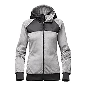 The North Face Oso Hoodie Women's Lunar Ice Grey/TNF Black Large
