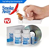 Smoke Away - Stop & Quit Smoking 7 Day Kit 30 Day Recovery Supply Electronic Cigar Alternative Natural Quick Anti Smoking Healthy Medicine