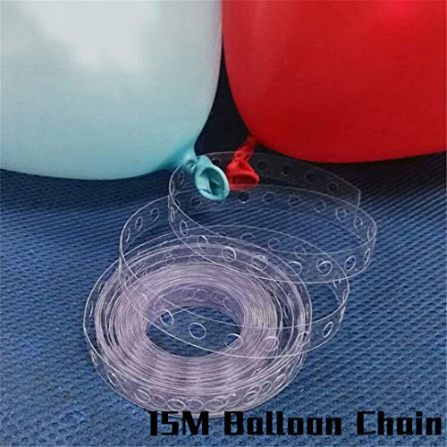 7 Tubes Balloons Holder Column Stand Birthday Party Decorations Kids Adult Birthday Balloons Stand Holder For Wedding Decoration 15Meter Ballon -