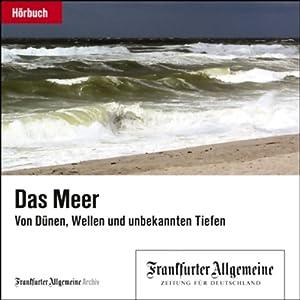 Das Meer. Von Dünen, Wellen und unbekannten Tiefen (F.A.Z.-Dossier) Hörbuch