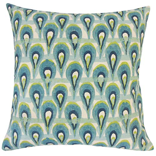 - The Pillow Collection Leehi Geometric Frost Down Down Filled Throw Pillow