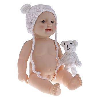 1b0b5d0cf7b912 KOZEEY リアル おもちゃ シリコーン製 ベビードール ソフトビニール 全6色 - #2男の子