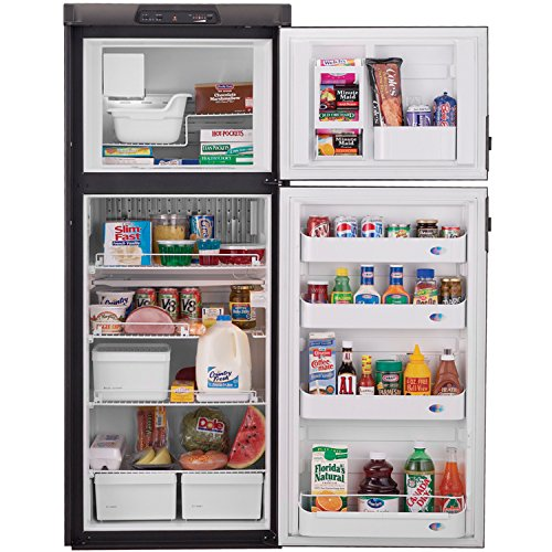 Avanti Apartment Refrigerator - Dometic DM2852RB Americana Double Door RV Refrigerator - 2-Way, 8 Cubic Ft.