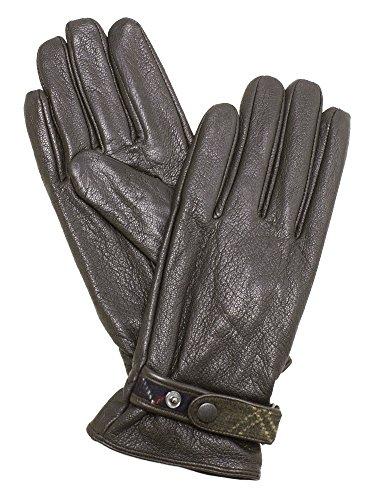 リンスファブリック内部[バブアー] Barbour レディース 手袋 ブラウン BARBOUR GOATSKIN LEATHER GLOVE LGL0059 BR71 DK BROWN [並行輸入品]