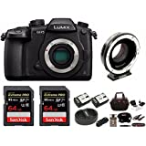 PANASONIC LUMIX GH5 Body 4K Mirrorless + Metabones Canon EF to Micro 4/3 T Speed Booster ULTRA 0.64x Bundle