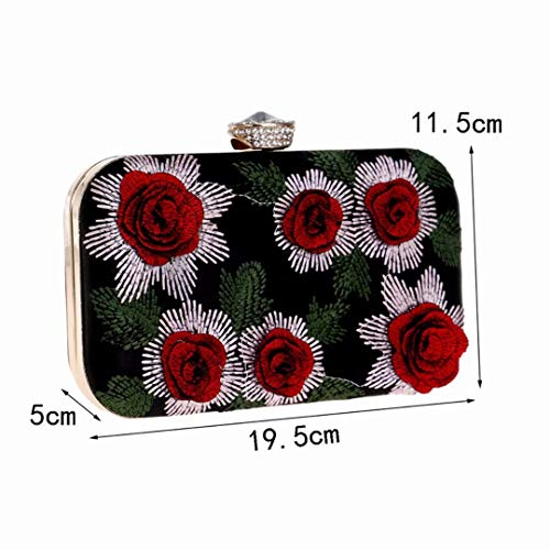 Dress Bag Red and American F g Red Bag European Fashion Bag Evening Banquet Hand x0UFwx
