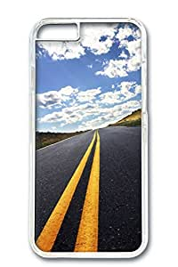 iPhone 6 Plus Case, Protective Slim Hard PC Clear Case Cover for Apple iPhone 6 Plus(5.5 inch)- Load To Farway