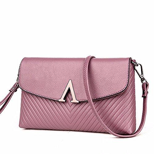 Violet coursier 16 enveloppe dame l'épaule de à embrayage summer nouvelle sac cm 5 black stylé 25 sac xwFa1WqAz