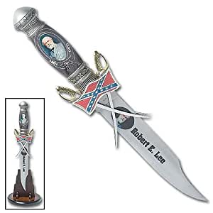 General Robert E. Lee Civil War Confederate Army CSA Rebel Bowie Knife Saber Sword Letter Opener