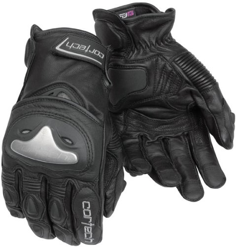 - Cortech Vice 2.0 Mens Black Leather Glove - X-Large
