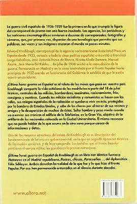 Última Hora:Guerra En España!: Amazon.es: Knoblaugh, Edward: Libros