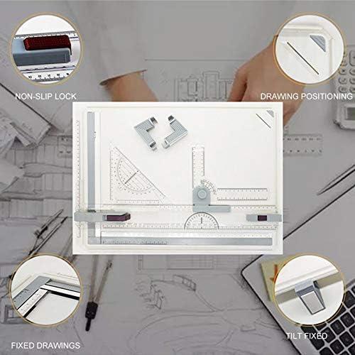 Farrom Profesional A3 Dibujo Mesa Ténico Panel con Dibujo Cabeza ...