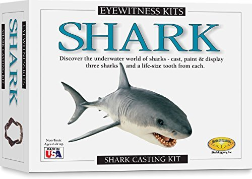 Shark Casting Kit (Skullduggery Eyewitness Shark Casting Kit by Skullduggery)