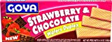 Goya Foods Strawberry & Chocolate Wafers Duplex, 4.9 Ounce (Pack of 24)