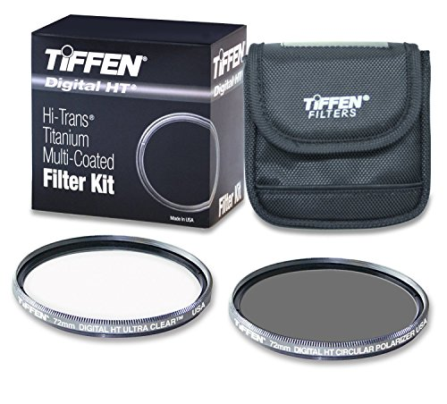 Tiffen 72HTPTP 72MM Digital HT Twin Pack with Ultra Clear and Circular Polarizer