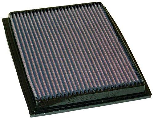 K&N ENGINEERING 33-2675 Air Filter; Panel; H-1.125 in.; L-8.25 in.; W-9.938 in.;