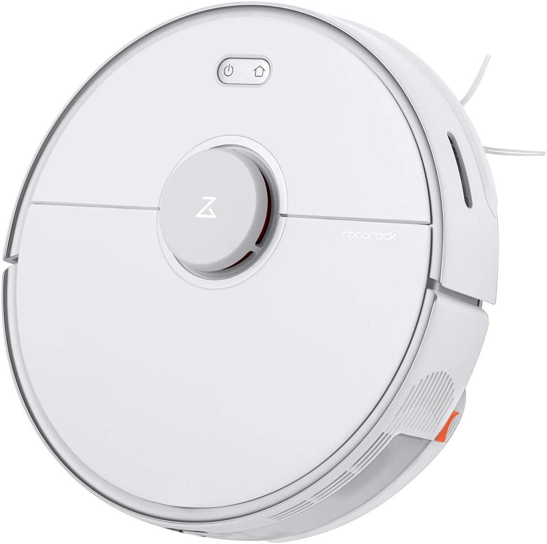 roborock S5 MAX Robot Aspirador, barredora, función de Limpieza, sensores LDS, Control por aplicación (S5 MAX Blanco): Amazon.es: Hogar