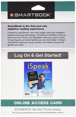 SmartBook Access Card for iSpeak: Public Speaking for Contemporary Life